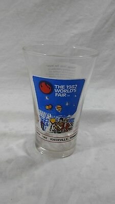The 1982 World's Fair McDonald's Coca Cola Knoxville Tennessee USA Glass