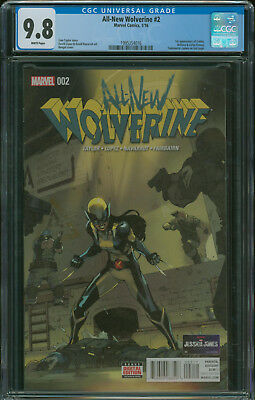 All-New Wolverine #2 CGC 9.8 1st appearance of Gabby, Honey Badger 1st print