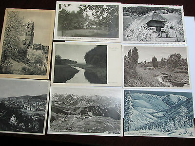 Lot of 8 Antique to Vintage ca 1920s Postcards Various German Scenes Germany