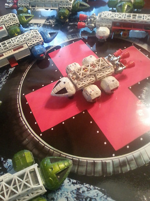 1 Vintage Dinky Toy Eagle Space 1999 Falcon shuttle never see for sale Prop