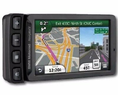 BMW MOTORRAD NAVIGATOR V With Cradle North American Maps iPx7 Bluetooth