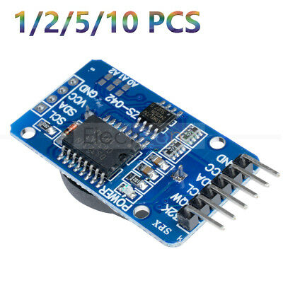 1/2/5/10PCS DS3231 AT24C32 IIC Precision Real Time Clock Module Memory Arduino