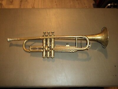 RARE Vintage Karl Fuchs American Model Student Trumpet School Band USA *No Case*