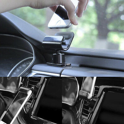 1x Interior Gravity Car Phone Holder 4 – 7 Inch Mounts Stand For iPhone Samsung