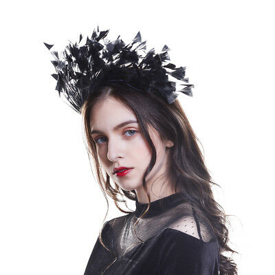 Women's Feather Headband Hairband Costume Special Party Head Band Fascinators