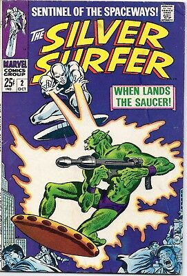 Silver Surfer 2 Oct 1968 Silver Age 50% off POST FREE