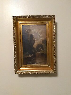 Antique Oil Painting Unsigned 19th/18th Century