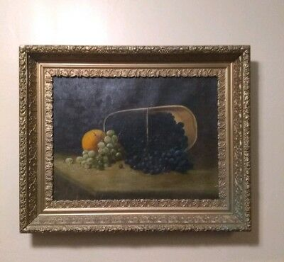Antique Oil Painting Unsigned 19th/ 18th Century (Large)