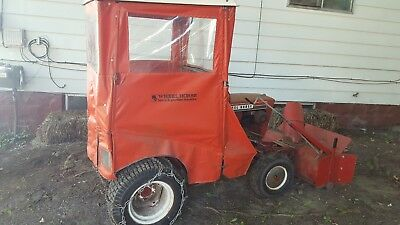 WHEEL HORSE SNOW Blower Tractor
