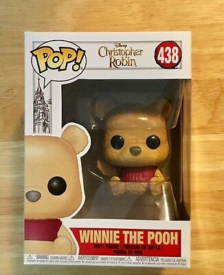 FUNKO POP! #438 DISNEY'S CHRISTOPHER ROBIN-WINNIE THE POOH FIGURE *In Stock*