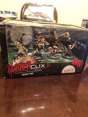 HorrorClix HorrorClix 2-Player Starter Set Box Fair