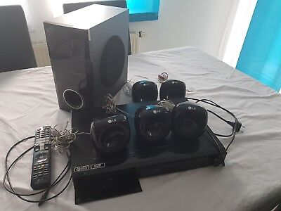 LG HB 405, Bluray, Heimkino, 5.1 Dolby Surround, home cinema, Subwoofer