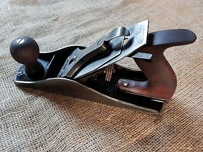 Vintage Stanley Bailey Sweetheart No. 4 1/2 Smooth Wood Plane Complete