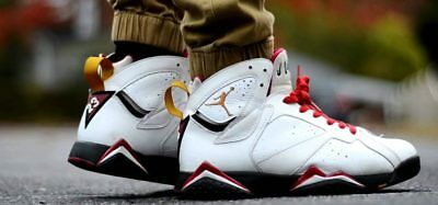 6657322ecf54a9 ... Air Jordan 7 Retro Cardinal White Bronze Cardinal Red-Black 304775 104  ...