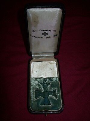 Ww1 German Medal Case.