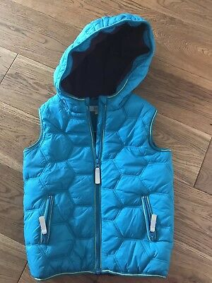 Boys Ted Baker Hooded Gillet Size 7 Years Excellent Condition.