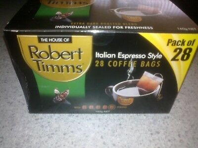 new and sealed Robert Timmes coffee bags