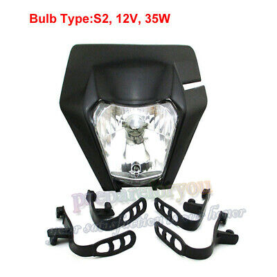 Headlight For 2017 2018 KTM EXC XCW EXCF SX-F 125 250 300 450 500 Motorcycle