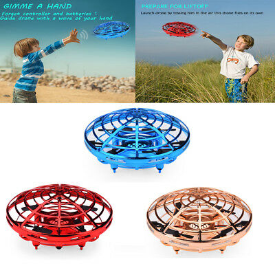 Smart Mini Drone Hand-Control Drones Quadcopter Helicopter LED Toy For Kids NEW
