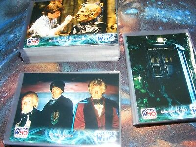 Dr DOCTOR WHO 1963-2003 Celebrating 40 Years base set of 100 Trading Cards mint