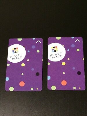 Hotel Key Card Hyatt Place Collectible - Set Of 2