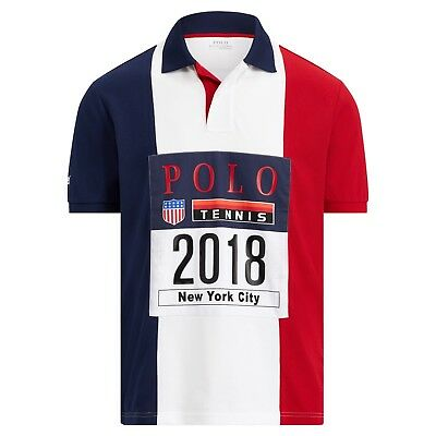 Open 1992 Polo Us Stadium Inspired Large Lauren Ralph Piqué Shirt 80Nnmw