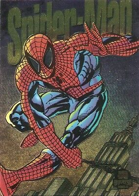 1994 Fleer Marvel Universe Power Blast Card #6 – Spider-Man