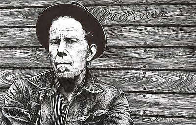 Tom Waits - Original Art - Signed by Artist - LOOK