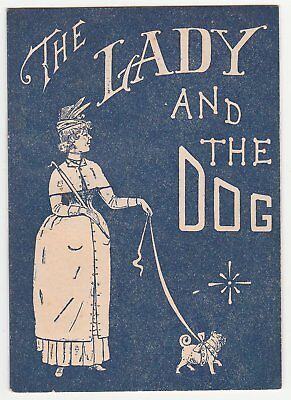 The Lady and the Dog, Victorian Thomson's Glove-Fitting Corsets booklet