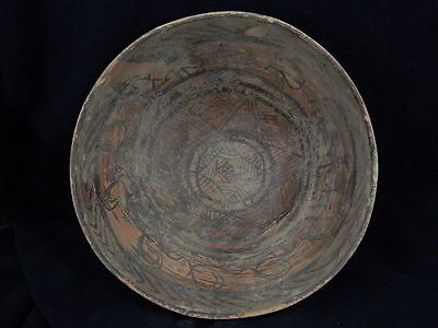 Ancient Huge Size Teracota Painted Pot With Animals Indus Valley 2500 BC #SG3119