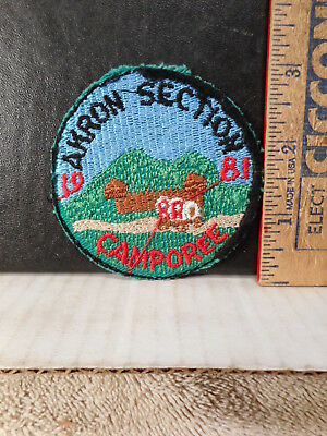 Royal Rangers Akron Section 1981 Camporee Patch  1012TB.