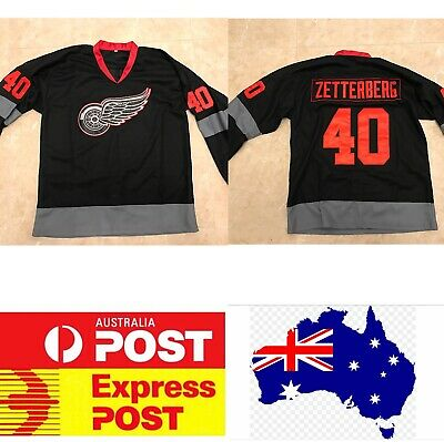 Detroit Red Wings #40 ZETTERBERG special edition jersey, Ice Hockey jersey