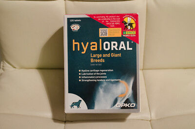 Hyaloral Chondroprotective large and giant breeds - 120 tablets || HYALORAL