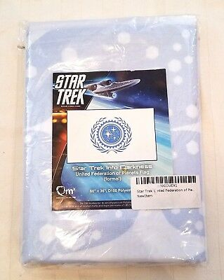 Unopened Star Trek Into The Darkness United Federation of Plants Flag (formal)
