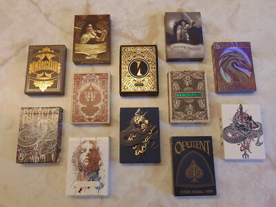 Collector Brick of Playing Cards (Intaglio, Implicit, Sumi, Savage Majesty ++)