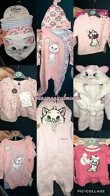 Brand New Baby Girl's Primark Disney Marie Nightwear Dressing Gown Pyjamas