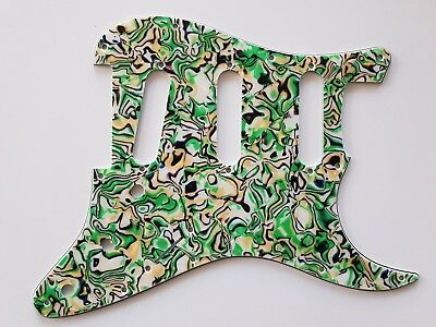 Stratocaster 62 guitar pickguard 4ply abalone fits fender brand new