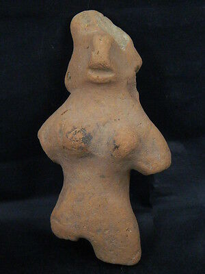 Ancient Large Teracotta Mother Goddess Indus Valley 1000 BC NO RESERVE  #STC455