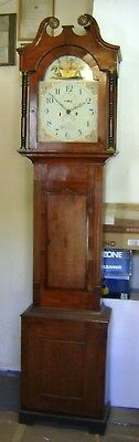 Antique Grandfather Clock - 8 day.
