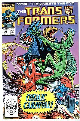 Transformers #44, Near Mint Minus Condition
