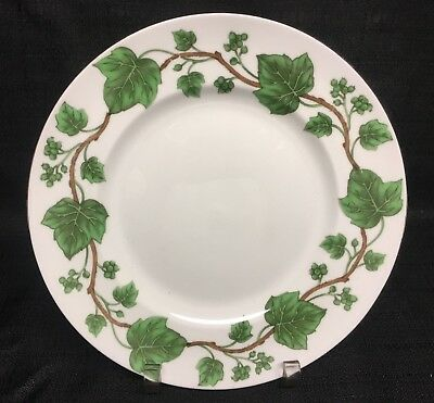 Crown Staffordshire Green Ivy Salad Plate