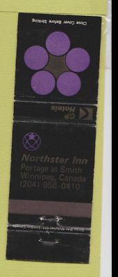 Matchbook Cover - Northstar Inn Winnipeg MB