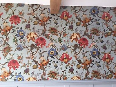House of Hackney Artemis Dove Grey Decoupage wall paper Off Cuts