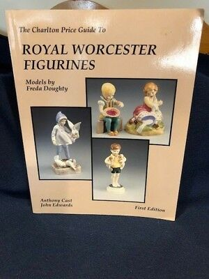 1st Ed Charlton Price Guide To Royal Worcester Figurines Reference Book