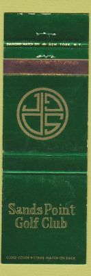 Matchbook Cover - Sands Point Golf Club