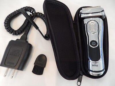 Braun series 9 9093cc wet and dry electric shaver