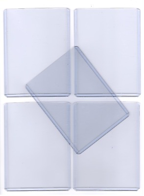 "Clear Trading Card Top Loaders | 3"" x 4"" 