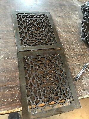 A15 Antique Cast-Iron Heating Grate Face 2 Available Price Separate 9 5/8 x 11.5