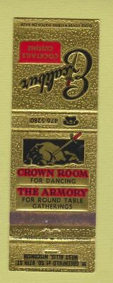 Matchbook Cover Excalibur Restaurant West Allis Wi 399 Picclick
