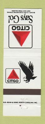Matchbook Cover - Citgo oil gas
